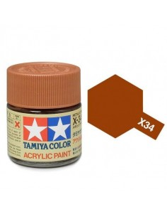 X-34 Metallic Brown - 10ml Acrylic Paint