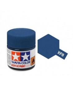 Tamiya - XF-8 - XF-8 Flat Blue - 10ml Acrylic Paint  - Hobby Sector