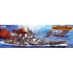 Tamiya - 78011 - British Battleship Prince of Wales  - Hobby Sector