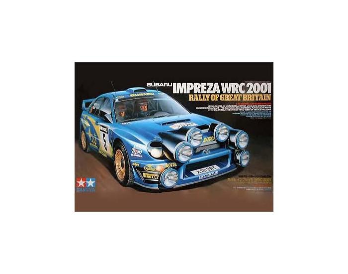 Subaru Impreza WRC 2001 Rally of Great Britain