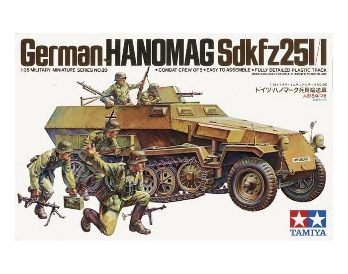 German Hanomag SdKfz 251/1
