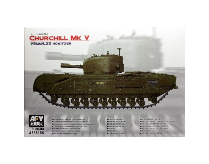Churchill Mk V 95mm/L23 Howitzer