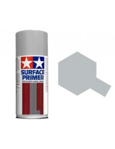 Tamiya Surface Primer (Gray) - 180ml Spray Primer
