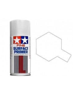 Tamiya Surface Primer (White) - 180ml Spray Primer