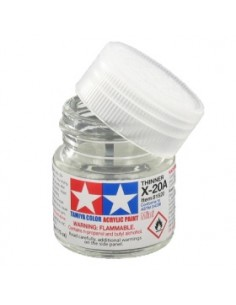 XF-20A Acrylic Thinner - 10ml Acrylic Paint