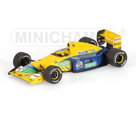 BENETTON FORD B191B - MICHAEL SCHUMACHER - 1992 - (WITHOUT FIGURINE)