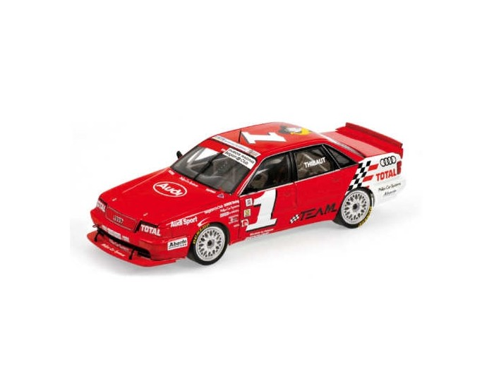 AUDI V8 EVOLUTION - DUBOIS RACING - PIERRE-ALAIN THIBAUT - BELGIAN PROCAR 1993