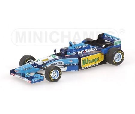 Minichamps - 400950001 - BENETTON RENAULT B195 - MICHAEL SCHUMACHER - WORLD CHAMPION 1995 - (WITHOUT FIGURINE)  - Hobby Sector