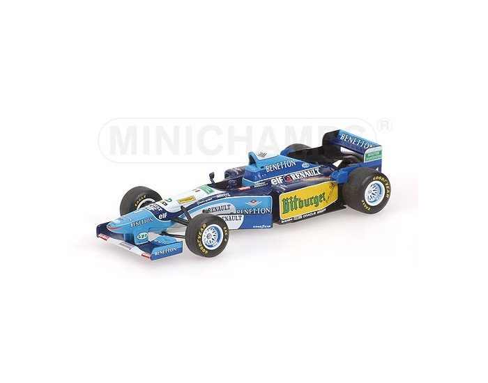 BENETTON RENAULT B195 - MICHAEL SCHUMACHER - WORLD CHAMPION 1995 - (WITHOUT FIGURINE)