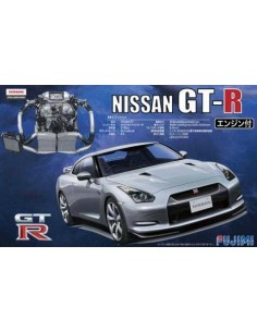 Nissan GT-R (R35) w/Engine