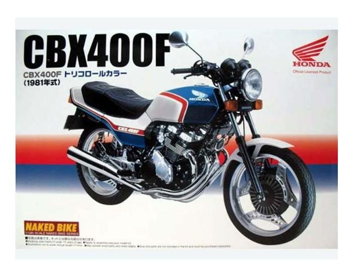 Honda CBX400F TriColor 1981
