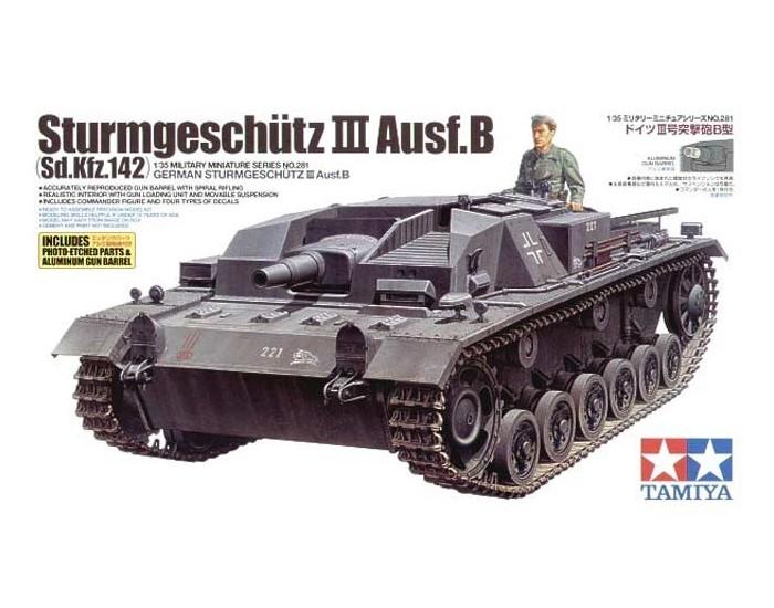 Tamiya - 35281 - German Sturmgeschutz III Ausf B  - Hobby Sector