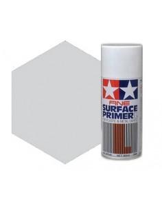 Tamiya - 87064 - Tamiya Fine Surface Primer L (Light Grey) - 180ml Spray Primer  - Hobby Sector
