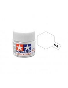 Tamiya - XF-2L - XF-2 Flat White - 23ml Acrylic Paint  - Hobby Sector