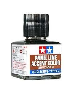 Tamiya - 87132 - Tamiya Panel Line Accent Color (Brown)  - Hobby Sector