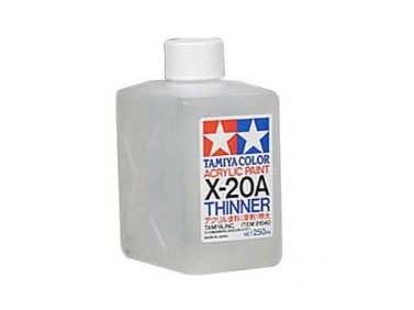 X-20A Acrylic Thinner - 250ml