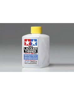 Tamiya - 87077 - Lacquer Thinner - 250ml  - Hobby Sector