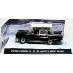 "Mercedes-Benz 220s James Bond ""On Her Majesty's Secret Service"""