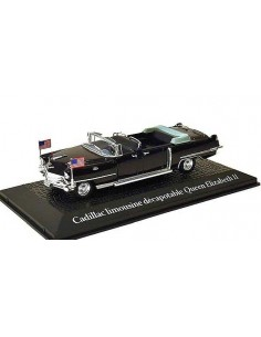 Cadillac Limousine Decapotable Queen Elizabeth II