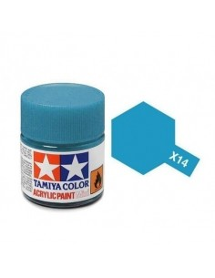 X-14 Sky Blue - 10ml Acrylic Paint