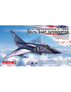 Meng - DS-006 - Convair F-106A Delta Dart Interceptor  - Hobby Sector