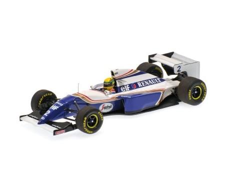 WILLIAMS RENAULT FW16 AYRTON SENNA PACIFIC GP 1994