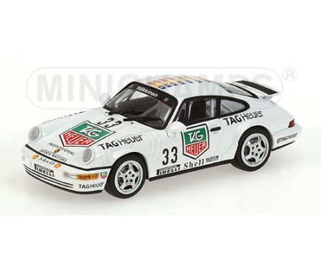 PORSCHE 911 CUP - MIKA HÄKKINEN - WINNER - PORSCHE MONACO SUPERCUP 1993