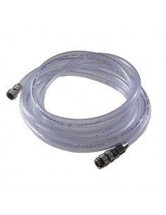 Clear Hose 2,5m with Quick Release Coupling 1/8""