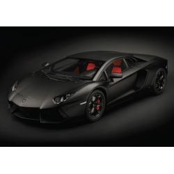 Lamborghini Aventador LP 700-4 - Nero Nemesis