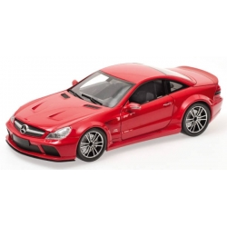 MERCEDES-BENZ SL65 AMG BLACK SERIES (R230) - 2009 - RED