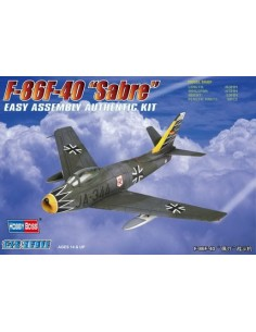 "F-86F-40 ""Sabre"" - Easy Assembly Kit"
