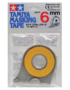 Tamiya - 87030 - Masking Tape 6mm Width With Applicator  - Hobby Sector