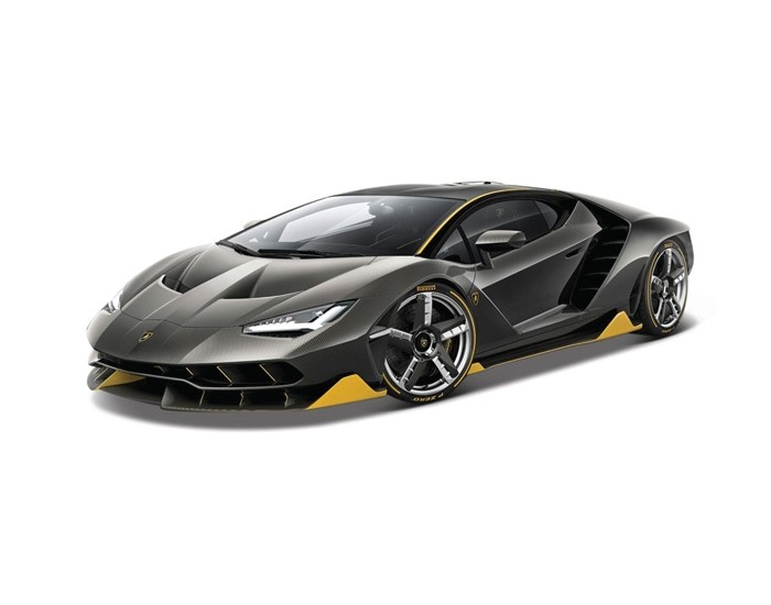 Lamborghini Centenario 2016 Grey and Yellow