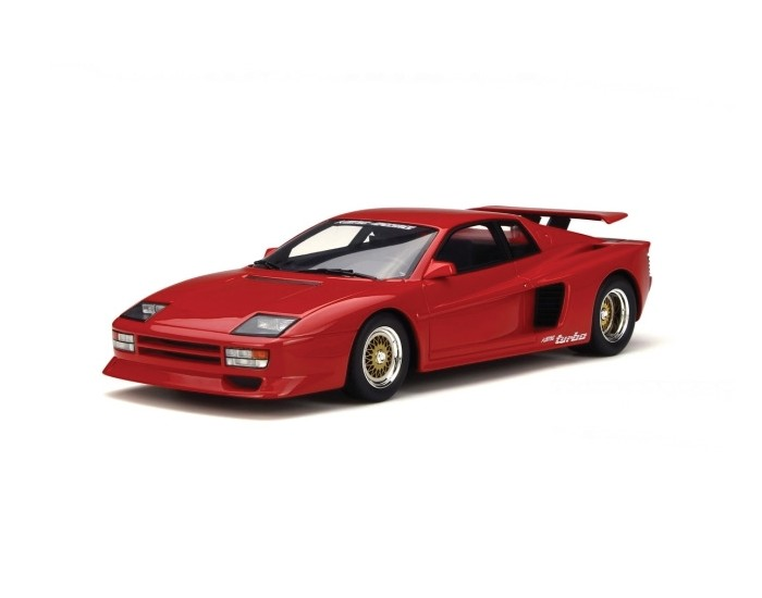 Koenig Testarossa Twin-Turbo - Red