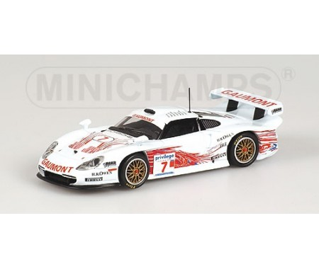 PORSCHE 911 GT1 - STUCK/WOLLEK/BOUTSEN/DALMAS/MCNISH - BRITISH GT CHAMPIONSHIP 1999