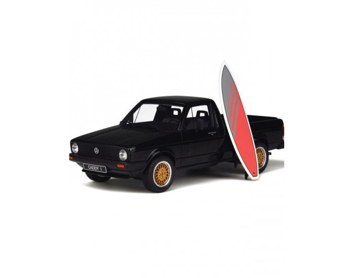 Volkswagen Caddy with Red Surf Board - Rarity
