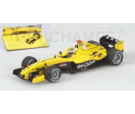 JORDAN FORD EJ14 - NICK HEIDFELD - ´SEASON LIVERIES´ TEAM JORDAN 2004