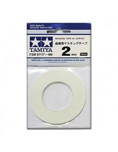 Tamiya - 87177 - Masking Tape for Curves 2 mm  - Hobby Sector