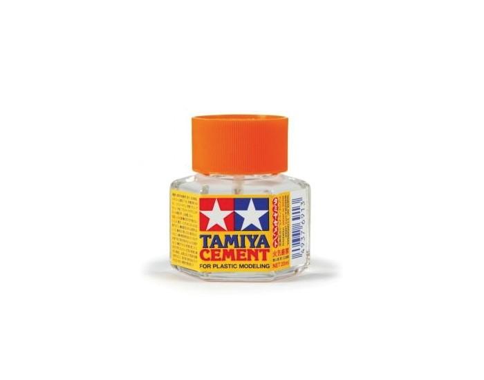 Tamiya Cement (Orange) - Bottle 20ml