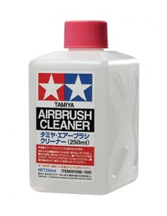 Tamiya - 87089 - Airbrush Cleaner - 250ml  - Hobby Sector