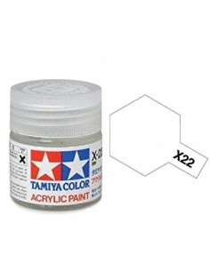 Tamiya - X-22 - X-22 Clear (Gloss Varnish) - 10ml Acrylic Paint  - Hobby Sector