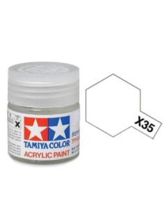 X-35 Semi Gloss Clear - 10ml Acrylic Paint
