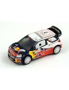 Spark - S3309 - Citroën DS3 WRC, No.2 Jordan Rally Winner 2011 Ogier - Ingrassia  - Hobby Sector