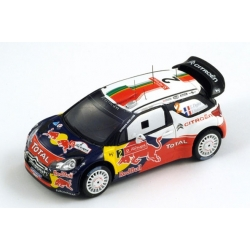Citroën DS3 WRC, No.2 Portugal Rally Winner 2011 Ogier - Ingrassia