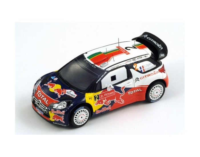 Citroën DS3 WRC, No.2 Portugal Rally Winner 2011 Ogier - Ingrassia