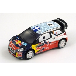 Citroën DS3 WRC, No. 2 Acropolis Rally Winner 2011 Ogier - Ingrassia