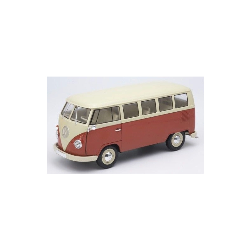 Welly 18054r 1 18 volkswagen t1 for 18 window vw bus