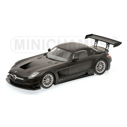 MERCEDES-BENZ SLS AMG GT3 STREET - MATT BLACK - 2011