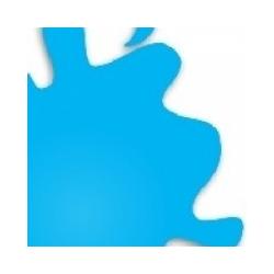 H323 Light Blue Gloss - 10 ml Tinta Acrílica