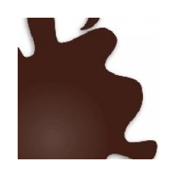 H406 Chocolate Brown Flat - 10 ml Acrylic Paint